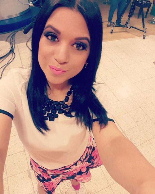 Yeny Ochoa, TV host Acción VTV – Hondu TV…